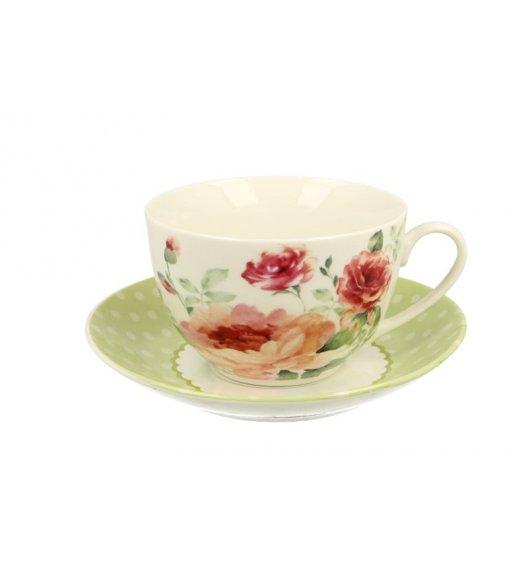 DUO MARY ROSE Filiżanka ze spodkliem 240 ml / porcelana
