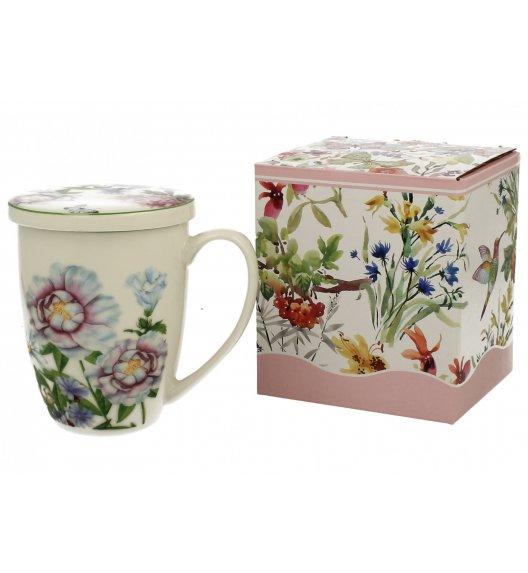 DUO LINDA Kubek z zaparzaczem 320 ml / porcelana