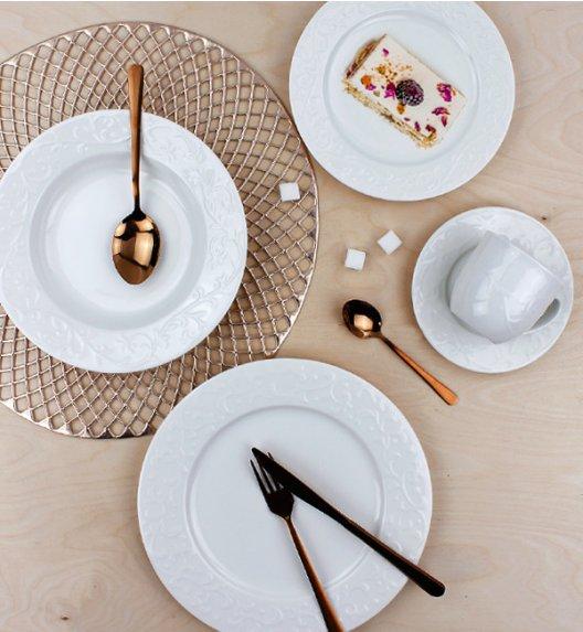 DUO HEMINGWAY Komplet obiadowo - kawowy 30 el / 6 osób / porcelana