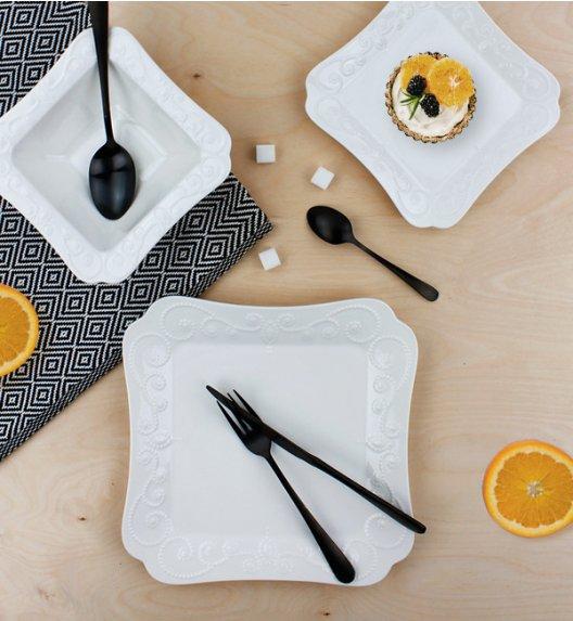 DUO ING Komplet obiadowy 36 el / 12 osób / porcelana wysokiej jakości