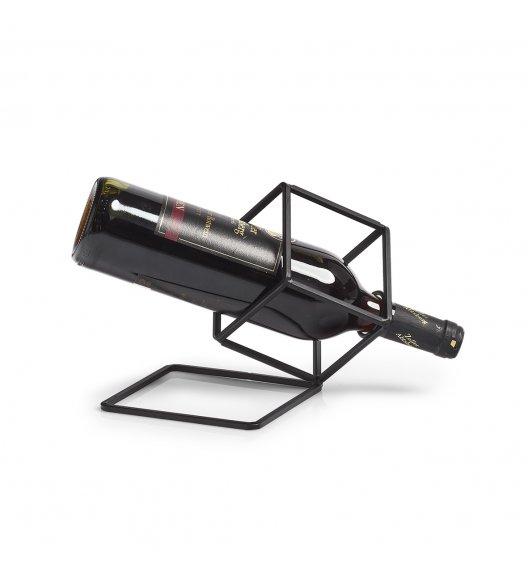 ZELLER Geometryczny stojak na wino 210 x 19 x 17 cm / metal