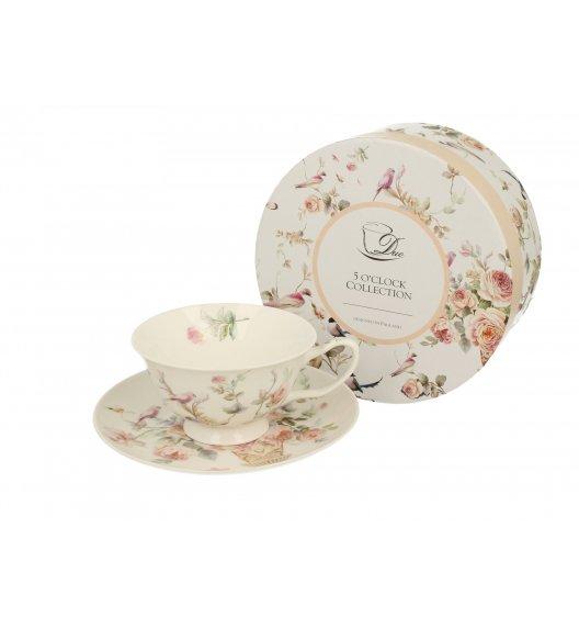 DUO ANNA Filiżanka ze spodkiem 200 ml / porcelana