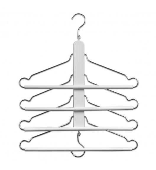 ZELLER Kompaktowy wieszak na ubrania / drewno + metal