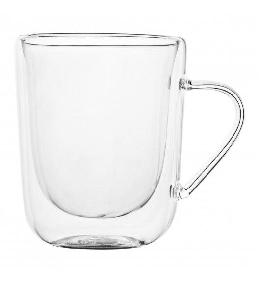 TADAR SUBLIME Komplet 2 szklanek termicznych 300 ml z podwójną ścianką / szkło