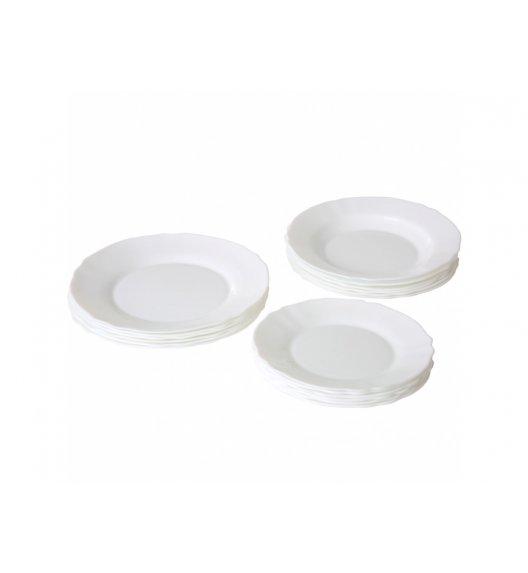 ARCOPAL LOUIS XV Komplet obiadowy 18 el dla 6 os / Szkło hartowane / 00851
