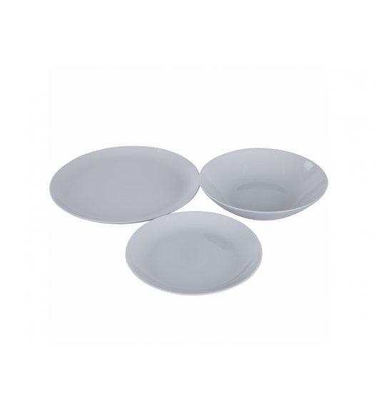LUMINARC DIWALI GRANIT Komplet obiadowy 18 el dla 6 os / Szkło hartowane / 00449