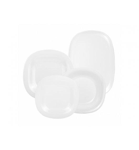 LUMINARC CARINE NEO WHITE Komplet obiadowy 19 el dla 6 os / Szkło hartowane / 00270