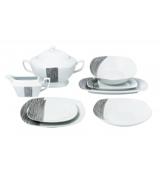 TADAR HOSTE Serwis obiadowy 43 elementy dla 12 osób / porcelana