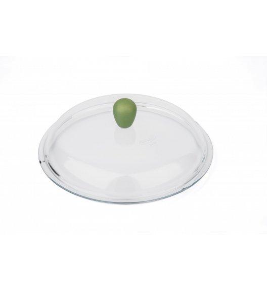 BARAZZONI ANIMA VERDE Szklana pokrywka z bakelitowym uchwytem ⌀ 28 cm