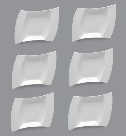 LUBIANA WING Komplet Talerze głębokie 25 cm / 6 el / 6 os / porcelana