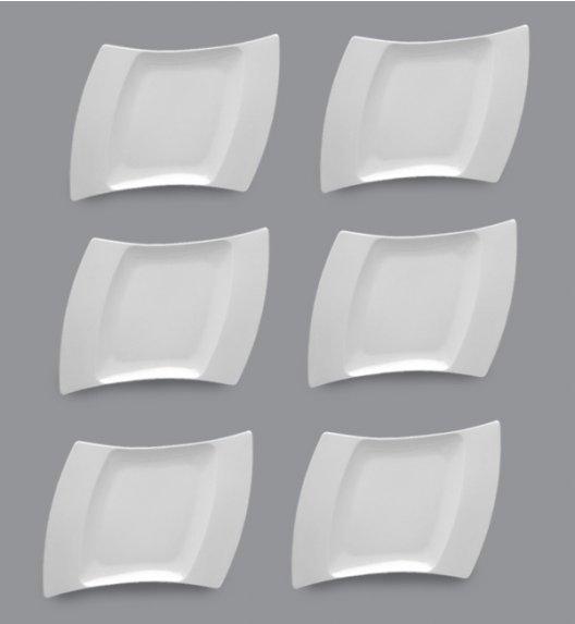 LUBIANA WING Komplet Talerze obiadowe 31 cm / 6 el / 6 os / porcelana