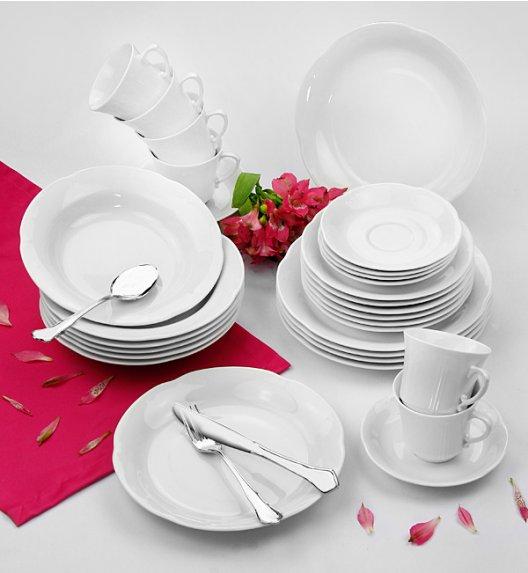 WYPRZEDAŻ! CHODZIEŻ KAMELIA Serwis obiadowo-kawowy 29 el / 6 osób / porcelana