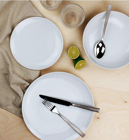 WYPRZEDAŻ! KRISTOFF O'LE Komplet 12 talerzy / porcelana