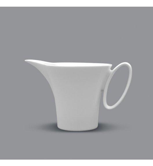 Dzbanek do mleka 0,25 l Lubiana Wing - Biały. Nowoczesny.
