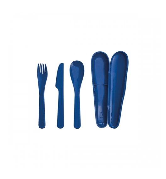 ALADDIN FOOD Ekologiczny zestaw sztućców 3 el / niebieski