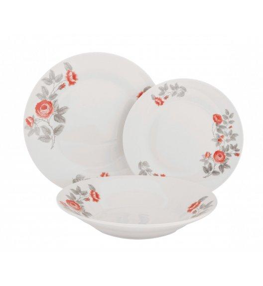 WYPRZEDAŻ! TADAR PEONY Komplet 16 talerzy / ceramika