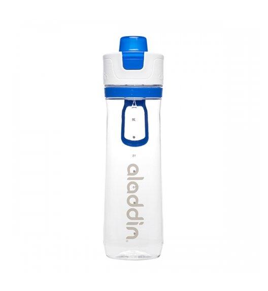 ALADDIN ACTIVE HYDRATION Butelka ze wskaźnikiem zużycia 800 ml / niebieska