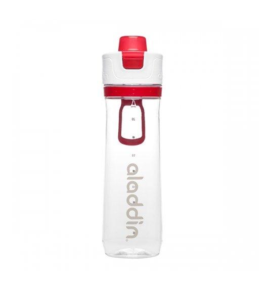 ALADDIN ACTIVE HYDRATION Butelka ze wskaźnikiem zużycia 800 ml / czerwona