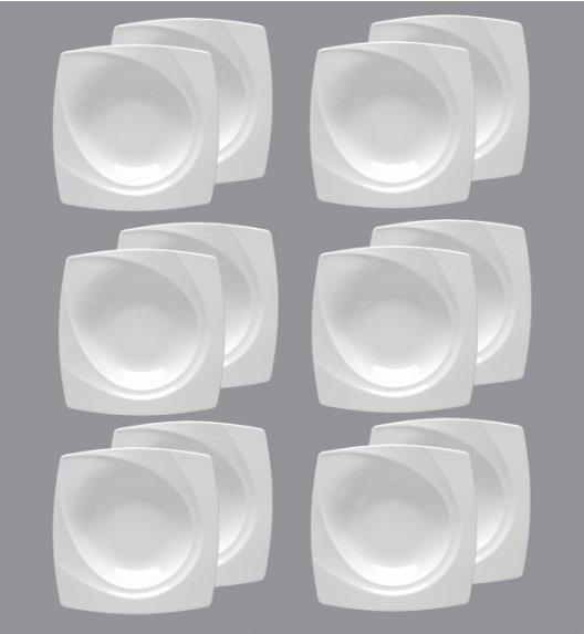 LUBIANA CELEBRATION Komplet Talerze głębokie 23 cm / 12 el / 12 os / porcelana