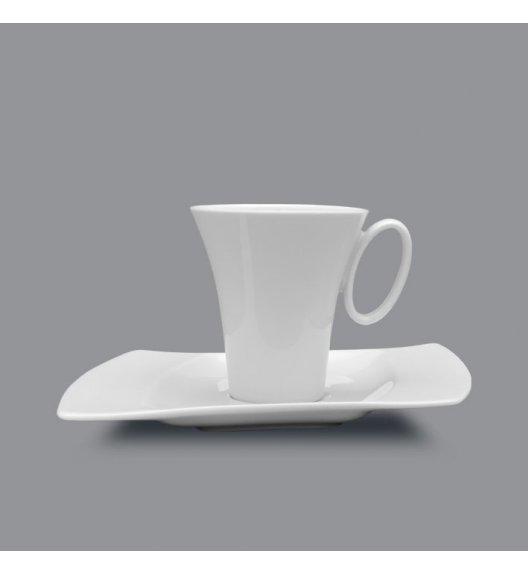 LUBIANA WING Filiżanka 200 ml + spodek 20,5 cm / 2 el / porcelana