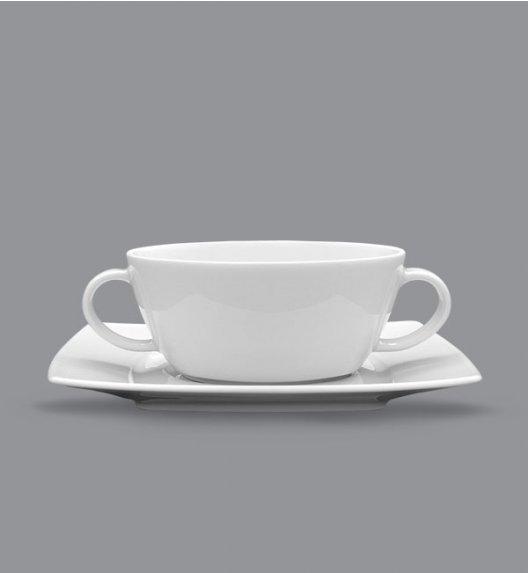 LUBIANA VICTORIA Bulionówka 300 ml + spodek / porcelana