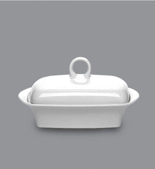 LUBIANA VICTORIA Maselnica 17x12 cm + pokrywka / 2 el / porcelana