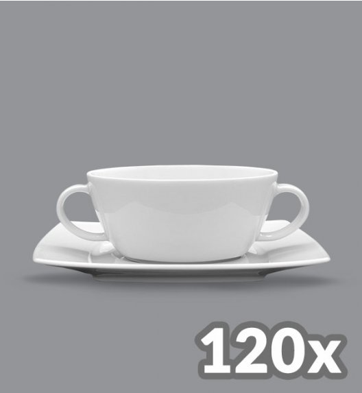 LUBIANA VICTORIA 120 x Bulionówka 300 ml + spodek / cena netto 13,10 zł / szt.