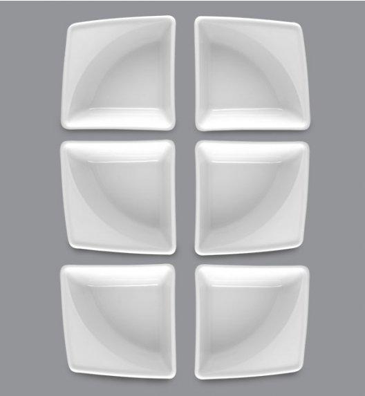 LUBIANA VICTORIA 6 x Naczynie do przystawek 10 x 10 / porcelana