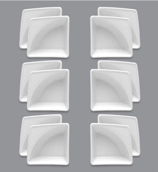 LUBIANA VICTORIA 12 x Naczynie do przystawek 10 x 10 / porcelana
