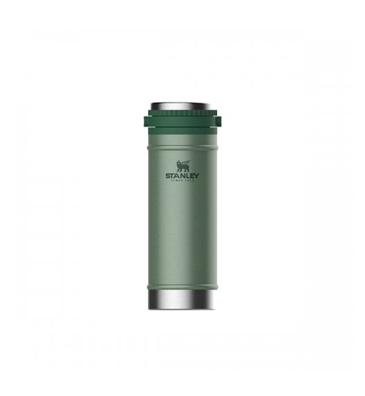 STANLEY CLASSIC Kubek termiczny z French Press 470 ml / zielony / stal nierdzewna