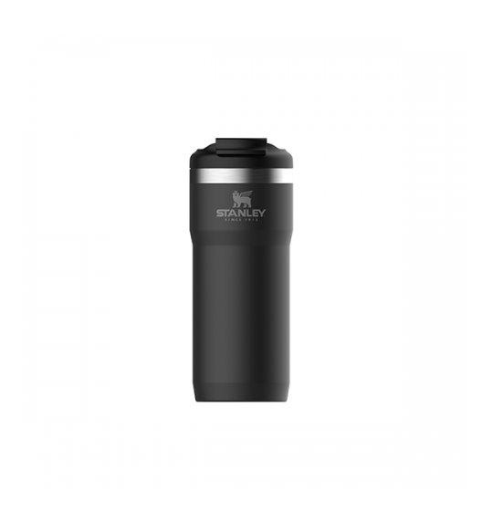 STANLEY CLASSIC Kubek termiczny TwinLock™ 470 ml / czarny / stal nierdzewna