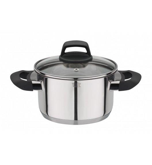GSW COMO Garnek do gotowania + pokrywka Ø16 cm / stal nierdzewna 18/8 / indukcja / 786348