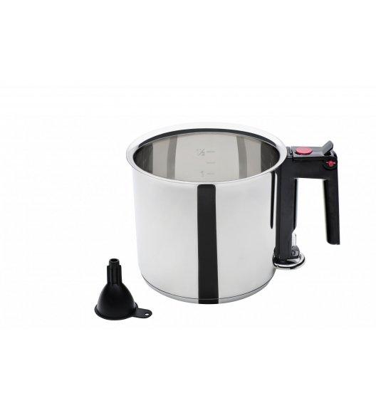 GSW BAIN MARIE Garnek do mleka 1,5 L / stal nierdzewna 18/8 / indukcja / 983167