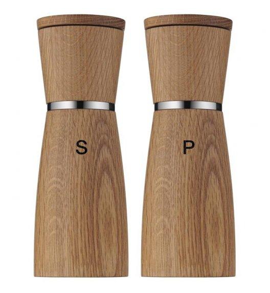 WMF CERAMILL NATURE Młynki do pieprzu i soli / 17,9 cm / brąz / drewno / Btrzy