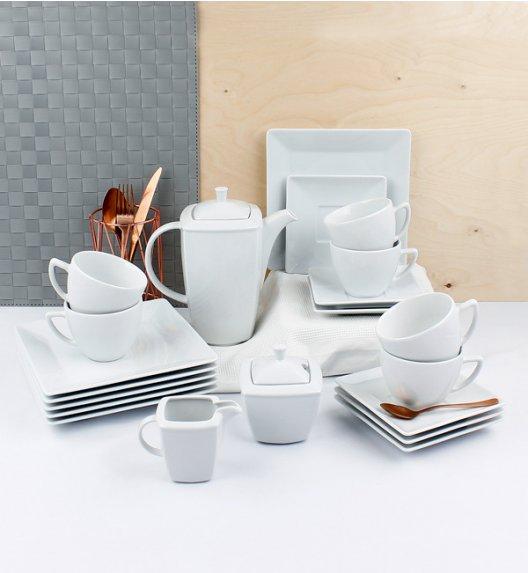 LUBIANA CLASSIC Serwis kawowy 6 os / 21 el / porcelana + GRATIS 49 ZŁ!