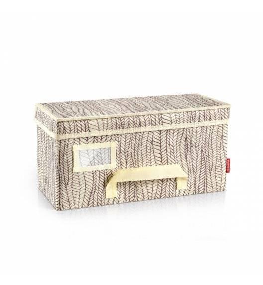 TESCOMA FANCY HOME Pudełko do przechowywania odzieży / 40 x 18 x 20 cm / kremowe