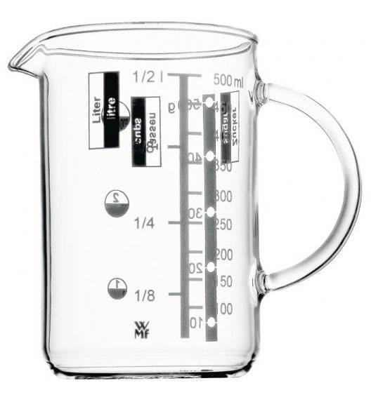 WMF GOURMET Miarka 0,5 l / szkło żaroodporne