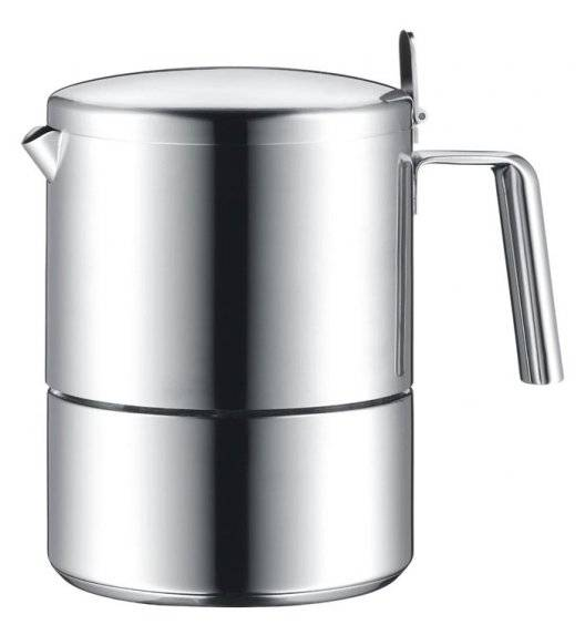 WMF KULT Kawiarka na 6 filiżanek espresso / matowa stal nierdzewna / indukcja