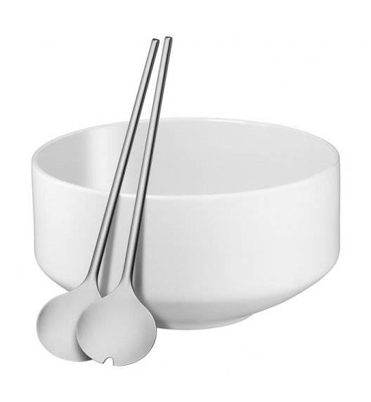 WMF MOTO Zestaw do sałatek / porcelana / biała