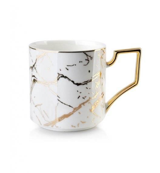 CRISTIE GOLD Kubek 330 ml / porcelana / biało - złoty