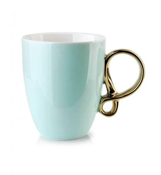 INFINITY GOLD Kubek 370 ml / miętowy / porcelana