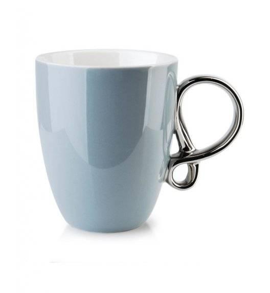 INFINITY SILVER Kubek 370 ml / szary / porcelana