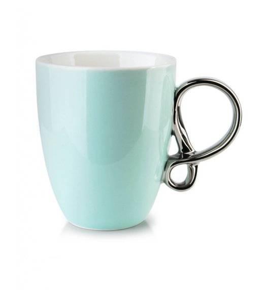 INFINITY SILVER Kubek 370 ml / miętowy / porcelana