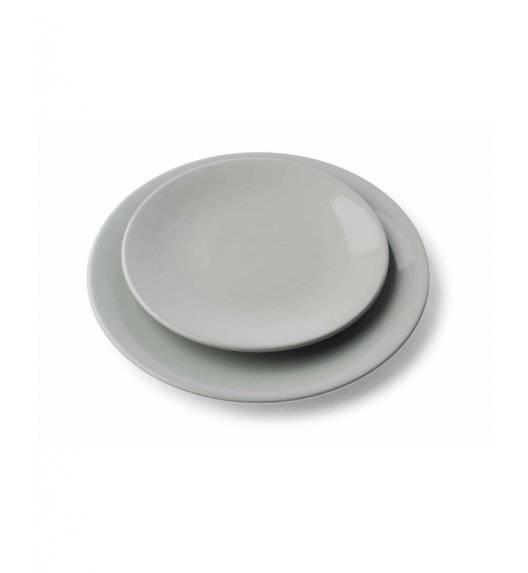 KERA/EGE Talerz płaski 25 cm / szary / ceramika