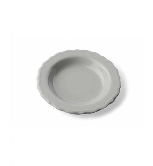 JULIET Talerz głęboki 420 ml  / szary / ceramika
