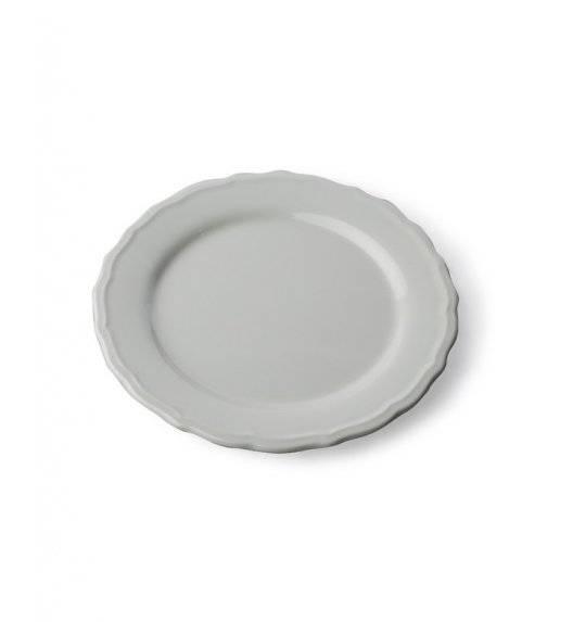 JULIET Talerz płaski 28 cm  / szary / ceramika