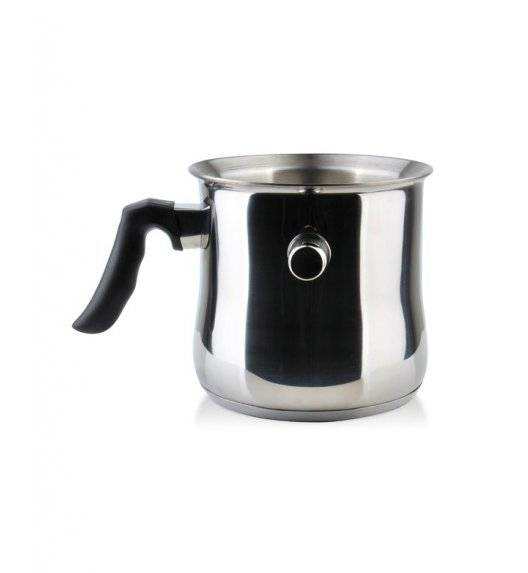 COOKINI BASIC STEEL Garnek do mleka 1,5 l / stal nierdzewna