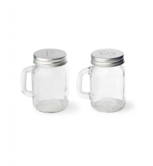 MONDEX Przyprawniki na sól i pieprz 120 ml / szkło