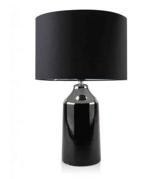 MONDEX DELIA Lampa 55 cm / czarna / ceramika