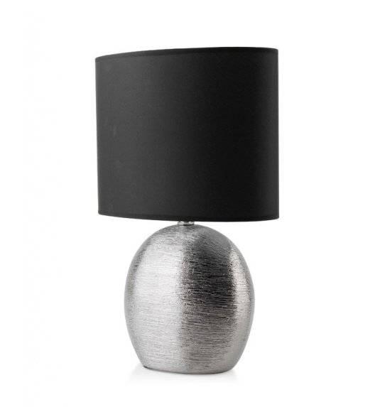MONDEX ELITE Lampa 39 cm / srebrno - czarna / ceramika